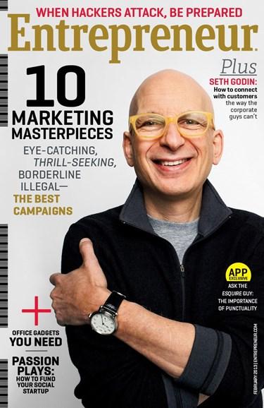 Entrepreneur Cover - 2/1/2013