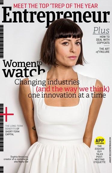 Entrepreneur Cover - 1/1/2013