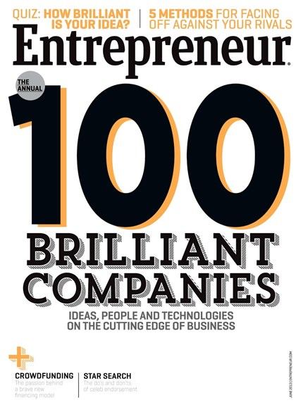 Entrepreneur Cover - 6/1/2013