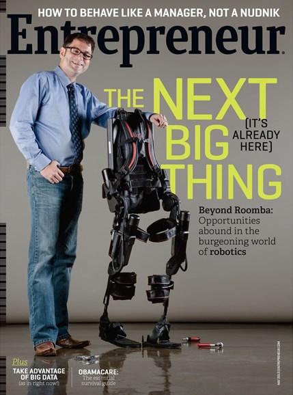 Entrepreneur Cover - 5/1/2013
