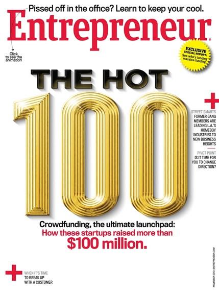 Entrepreneur Cover - 11/1/2013