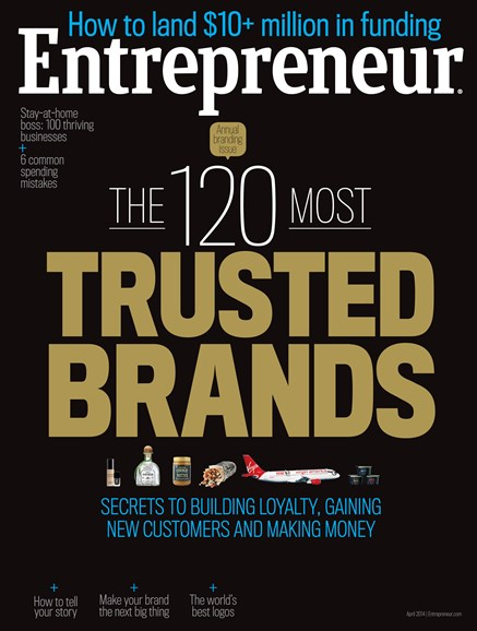 Entrepreneur Cover - 4/1/2014