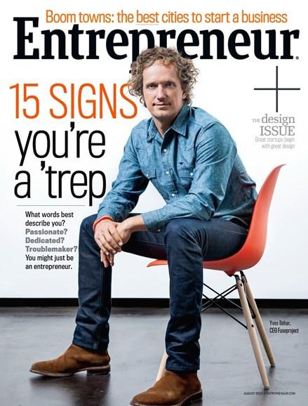 Entrepreneur Cover - 8/1/2014