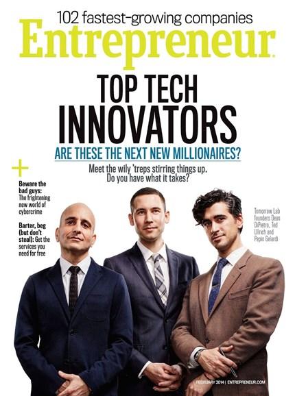 Entrepreneur Cover - 2/1/2014