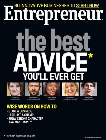 Entrepreneur Cover - 7/1/2014