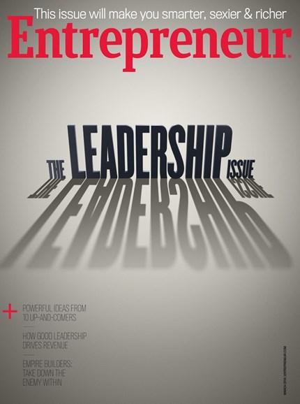 Entrepreneur Cover - 3/1/2014