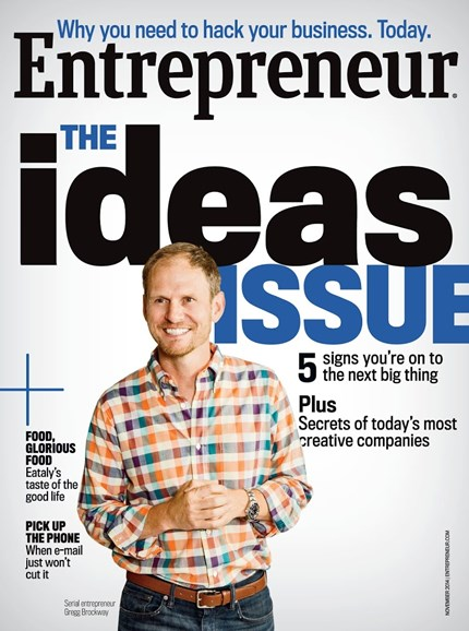 Entrepreneur Cover - 11/1/2014