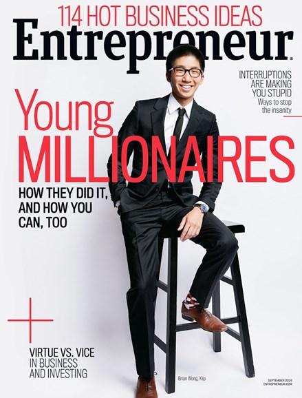 Entrepreneur Cover - 9/1/2014