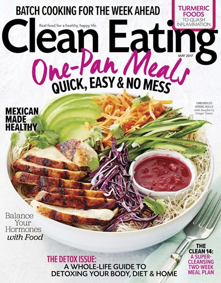 Clean Eating Cover - 5/1/2017