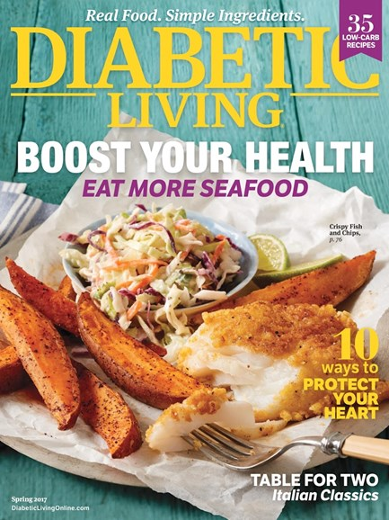 Diabetic Living Cover - 3/1/2017