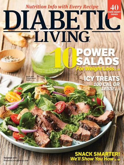 Diabetic Living Cover - 6/1/2017