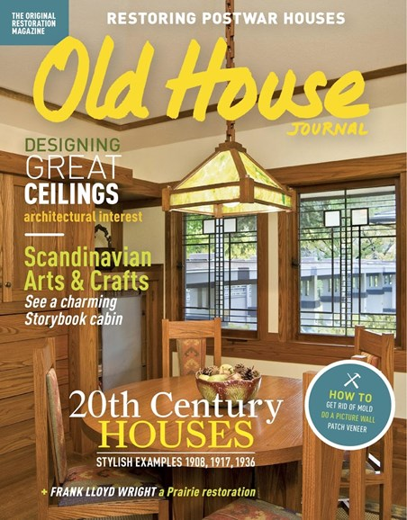 Old House Journal Cover - 5/1/2017