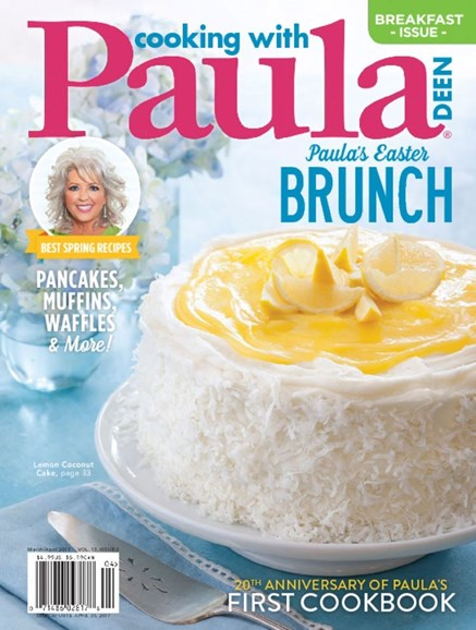 Cooking With Paula Deen Cover - 3/1/2017