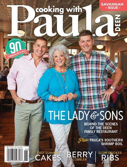 Cooking With Paula Deen Cover - 5/1/2017