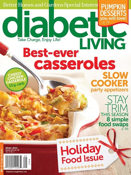Diabetic Living Cover - 12/1/2012