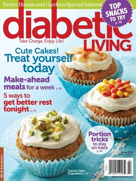 Diabetic Living Cover - 3/1/2012