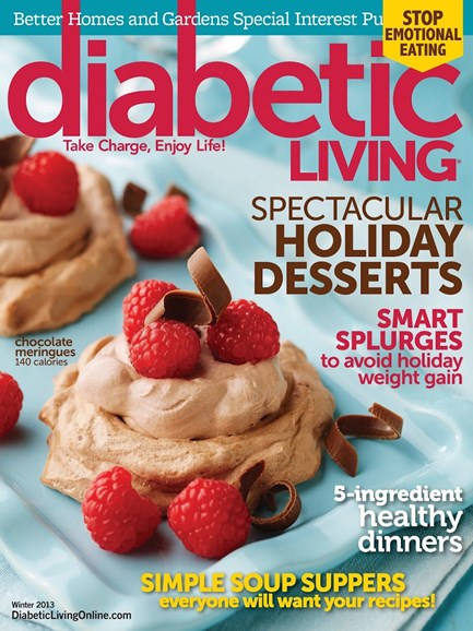 Diabetic Living Cover - 12/1/2013