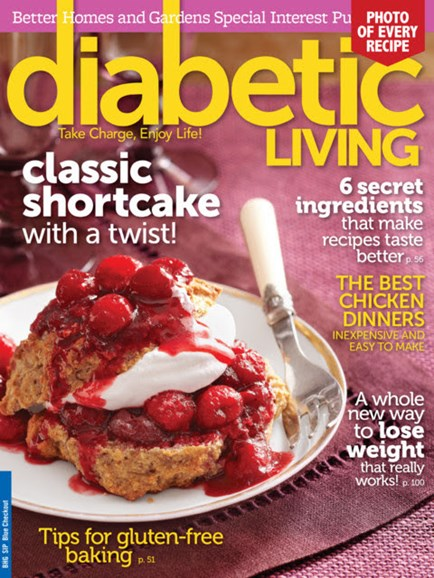 Diabetic Living Cover - 9/1/2013