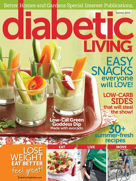 Diabetic Living Cover - 6/1/2014