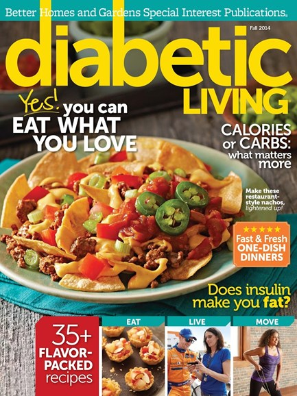 Diabetic Living Cover - 9/1/2014