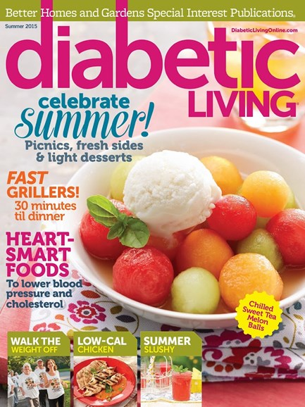 Diabetic Living Cover - 6/1/2015