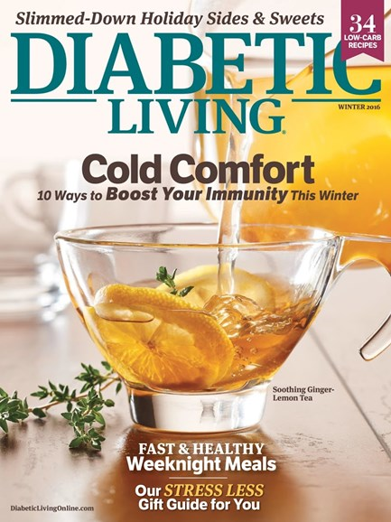 Diabetic Living Cover - 12/1/2016