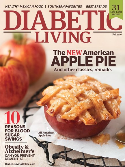Diabetic Living Cover - 9/1/2016