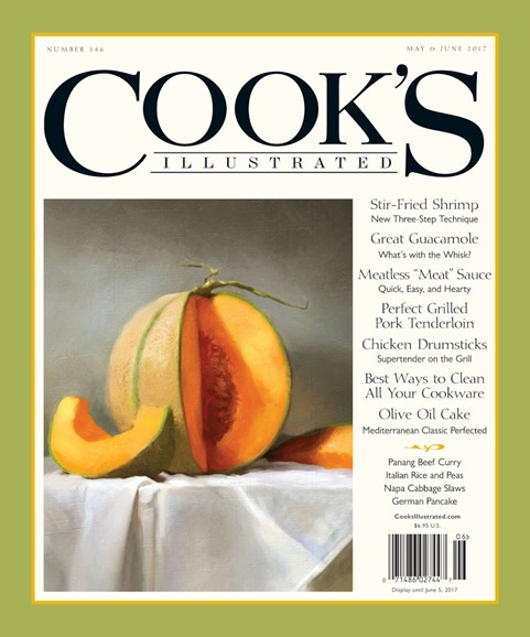 Cook's Illustrated Cover - 5/1/2017