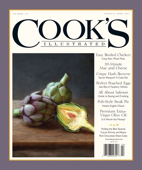 Cook's Illustrated Cover - 3/1/2017