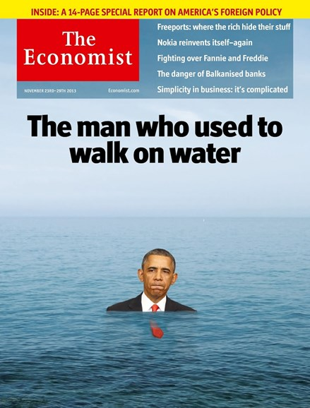The Economist Cover - 11/23/2013