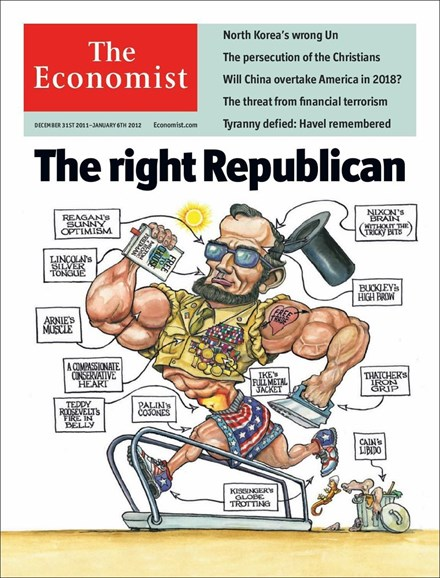 The Economist Cover - 12/31/2011