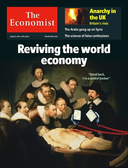 The Economist Cover - 8/13/2011