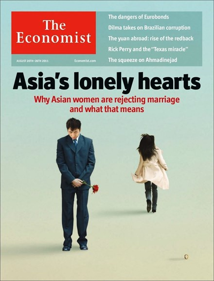 The Economist Cover - 8/20/2011