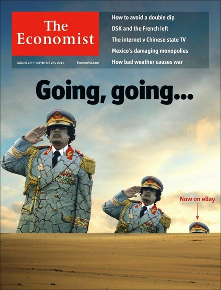 The Economist Cover - 8/22/2011