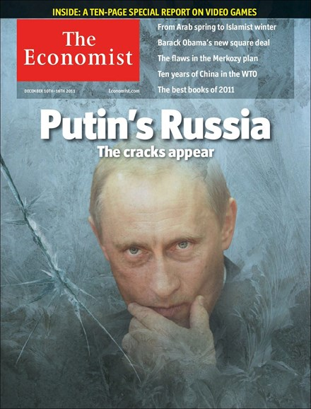 The Economist Cover - 12/10/2011