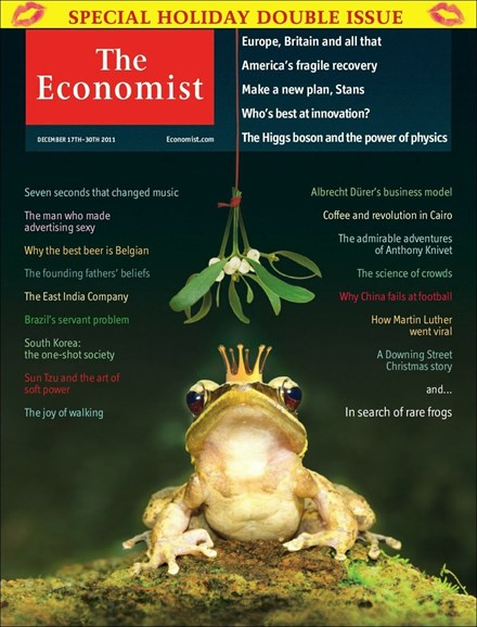 The Economist Cover - 12/17/2011