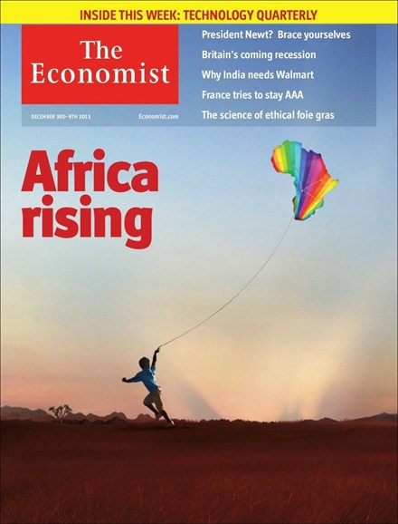 The Economist Cover - 12/3/2011
