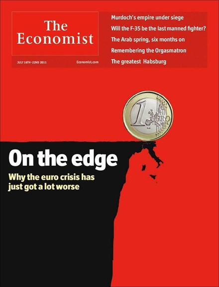 The Economist Cover - 7/16/2011