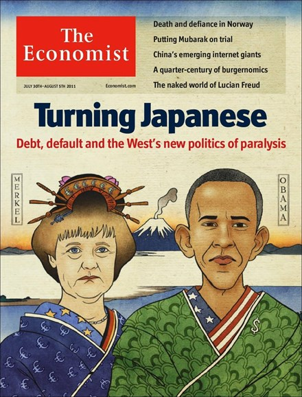 The Economist Cover - 7/30/2011