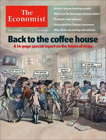 The Economist Cover - 7/9/2011