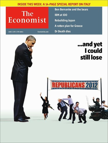 The Economist Cover - 6/11/2011