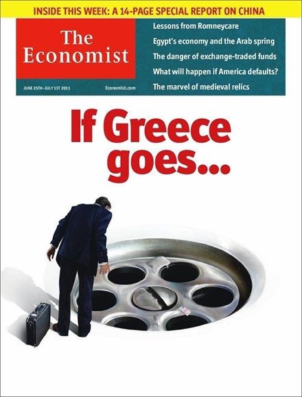 The Economist Cover - 6/25/2011