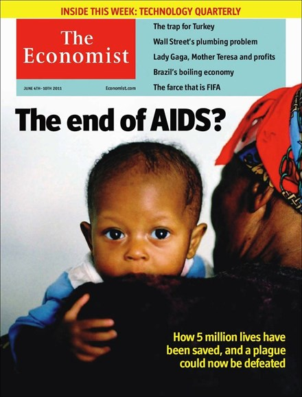 The Economist Cover - 6/4/2011