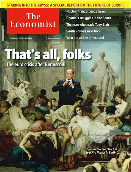 The Economist Cover - 11/12/2011