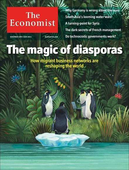The Economist Cover - 11/19/2011