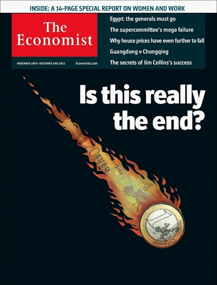 The Economist Cover - 11/26/2011