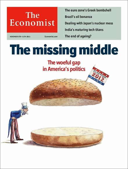 The Economist Cover - 11/5/2011