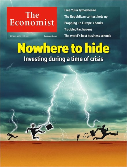 The Economist Cover - 10/15/2011