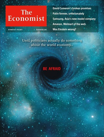 The Economist Cover - 10/1/2011