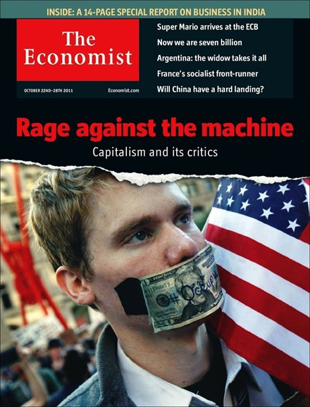 The Economist Cover - 10/22/2011